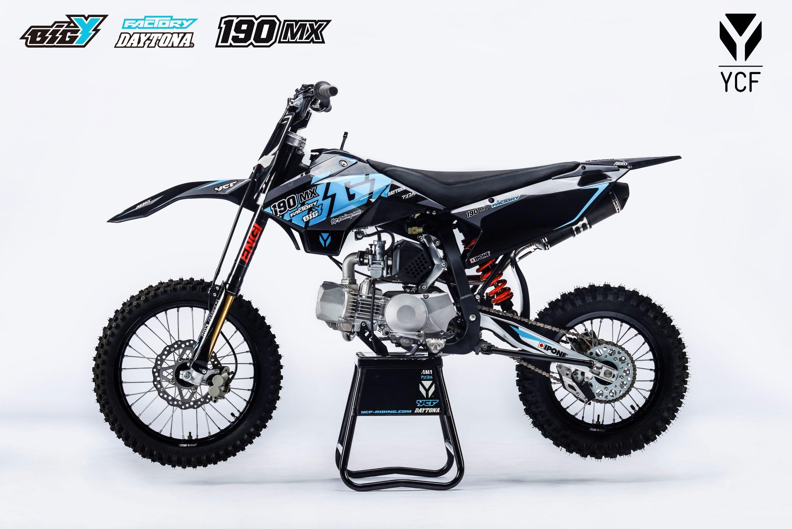ПИТБАЙК YCF BIGY FACTORY 190 Daytona MX 2021  Артмото - купить квадроцикл в украине и харькове, мотоцикл, снегоход, скутер, мопед, электромобиль