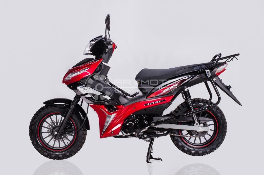 МОПЕД MUSSTANG Active 125 +  Артмото - купить квадроцикл в украине и харькове, мотоцикл, снегоход, скутер, мопед, электромобиль