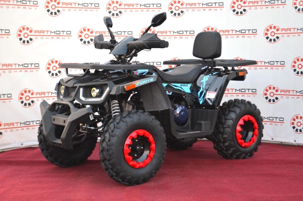 КВАДРОЦИКЛ FORTE SHARK II 200  Артмото - купить квадроцикл в украине и харькове, мотоцикл, снегоход, скутер, мопед, электромобиль